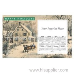 Printed Currier And Ives 8.5inch X 5.25inch Magnets