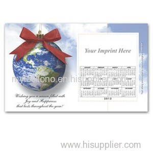 World Ornament 8.5inch X 5.25inch Magnets
