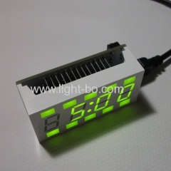 4 digit green led display;4 digit 7 segment led display with symbol;custom oven 7 segment