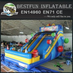 Lovely candy inflatable slide for party rental use