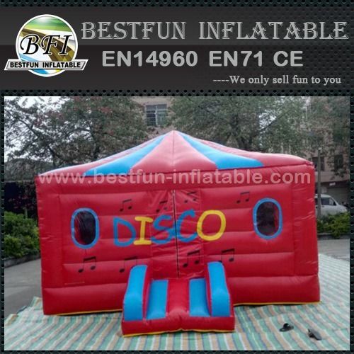 Outdoor disco dome inflatable bounce house