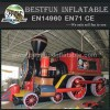 Inflatable amusement park trains for sale