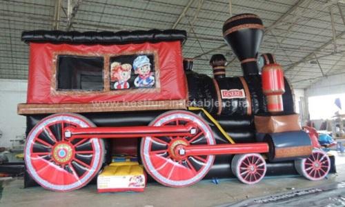 Inflatable amusement park trains for sale