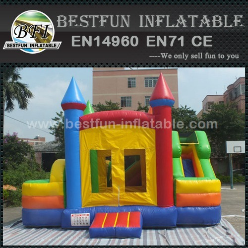 High quality Inflatable bouncer slide combo