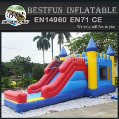 Inflatable Slides with Bounce House
