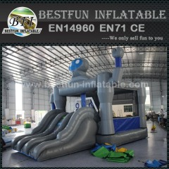 Robot Shape Inflatable Bounce House