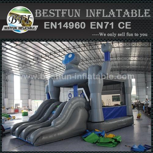 Robot Shape Inflatable Bounce House