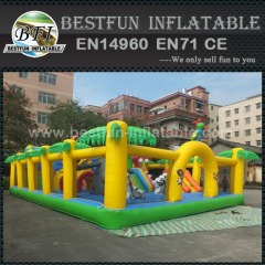 Madagascar Themed Inflatable Jumping Bouncer Park