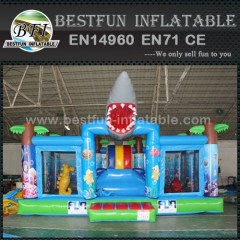 Shark Inflatable Giant Playground Equipment
