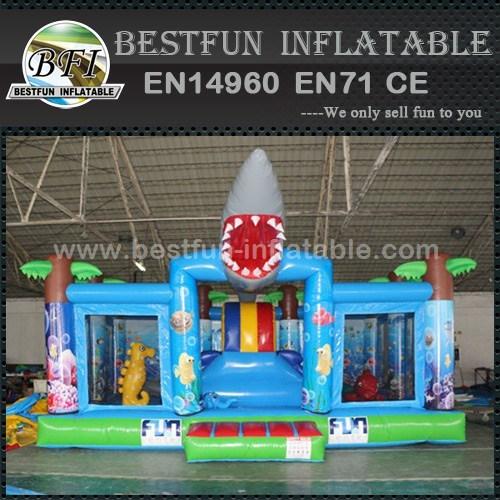 Shark Inflatable Giant Playground Equipment