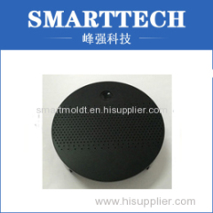 Round Shape Black ABS Loudspeaker Enclosure Plastic Mould