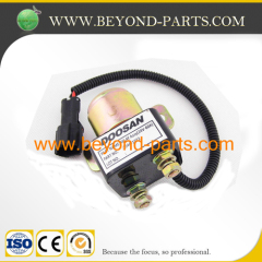 Doosan Daewoo DH220-5 excavator electric motor start relay 24V 2544-1022