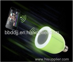 new patented multiple wireless bluetooth speaker with led bulb lamp