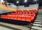 Professional Genuine Leather Seat Kino 4D Dynamic Cinema Digital Theater System