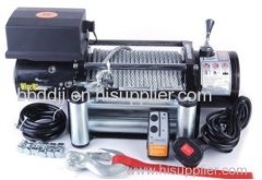 Hydraulic towing winch 13000lb for Cargo trailer
