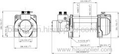 winch KHD-10 hydraulic winch