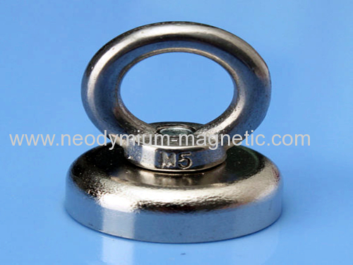 N52 Strong Ndfeb Magnet Pot Hook magnet