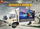 Beautiful Mobile 7D Cinema 7D Interactive Theater With Motion Chair
