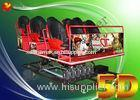 Customized 6 DOF Electric Platform 5d Driving Simulator 5 D Theater