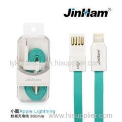 Flat Apple Lightning Data Charger Cable