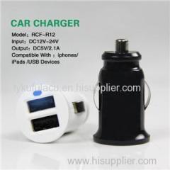 Smart Dual USB Car Charger 3.1A