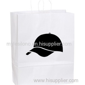 Printed Stephanie White Paper Shopper