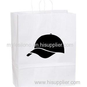 Printed Stephanie White Paper Shopper