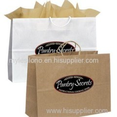 Logo Vegas Uptown Shopper Paper Bags