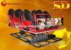 Popular Electric 5D Movie Theater 5D Driving Simulator 2-100 Seats