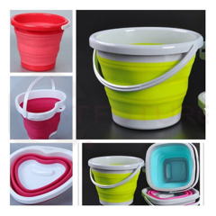 Multifunctional Scalable and Retractable Silicon Bucket