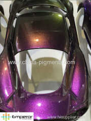 chameleon pigment for car coating and nail polish