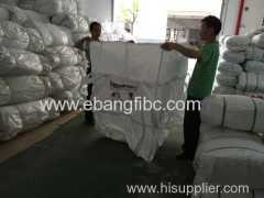 PP woven jumbo bag for packing slag