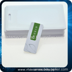 Customized size and Mini rfid card/125khz /13.56mhz rfid card