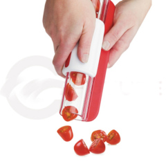 Manual Plastic zip cherry Slicer for small fruit