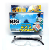 Frameless big vision magnifying glasses