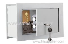 Tabla de piso bajo cajas fuertes piso / piso y la pared ocultos seguro para el hogar seguro con cerradura de llave