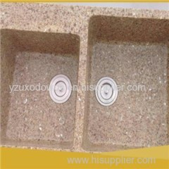 Natural Stone Quartz Sink Washing Basin