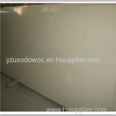 Synthetic Cream Marfil Marble Vein Quartz Stone Slabs