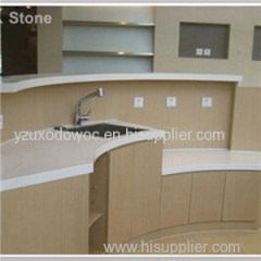 White Quartz Bar Top