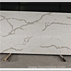Arabescato White Quartz Stone With Marble Veins