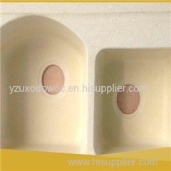 Engineered Quartz Sink Artificial Stone Basin Solid Surface Sinks