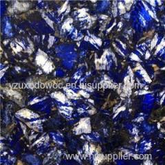 Natural Blue Sodalite Jasper Slab