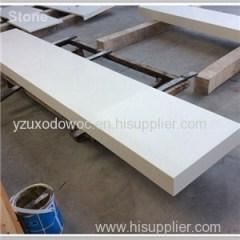 Natural White Artificial Quartz Stone Countertop