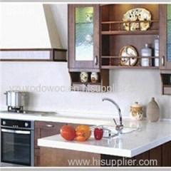 Kitchen Countertop Crystal White Quartz