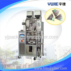 Automatic pyramid tea bag packing machine(inner and outer bag)