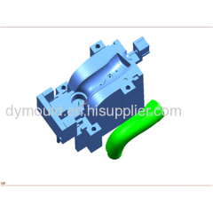 Blow molding plastic mould A