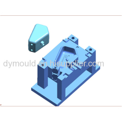 Blow molding plastic mould C