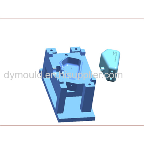 Blow molding plastic mould D