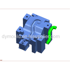 Blow molding plastic mould I