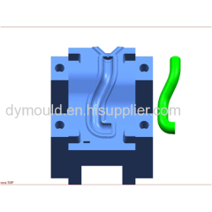 Blow molding plastic mould J
